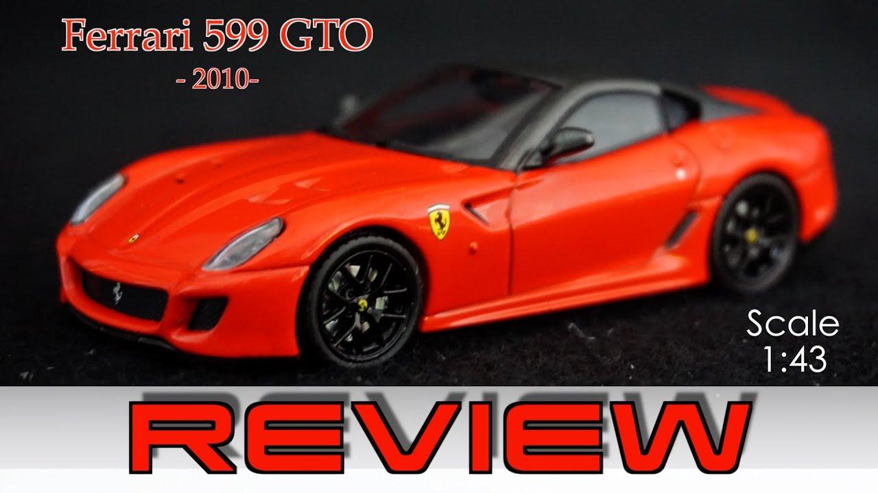 Ferrari 599 gto 143 review ferrari gt collection youtube ferrari 599 gto 143 review ferrari gt collection vanachro Gallery