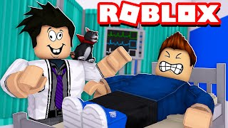 LOKIS MÉDICO NO HOSPITAL MALUCO | Roblox - Hospital Life