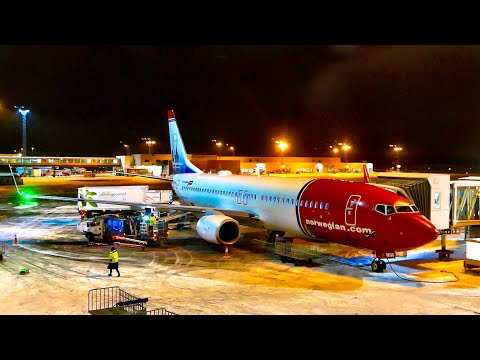 NORWEGIAN, my favourite low cost airline: Stockholm to Gothenburg, Boeing 737-800
