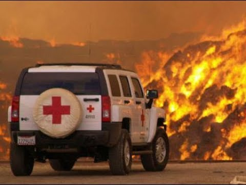 Red Cross, Fire And Cryptos