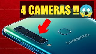 Samsung A9 Price & Launch date India | First ever phone with four rear camera😱Specification.