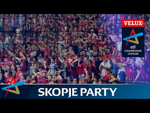 Vardar fans raise the roof in VELUX EHF Champions League