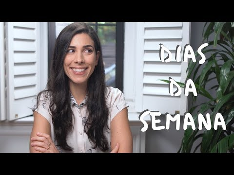 Days of the Week in Portuguese  Speaking Brazilian