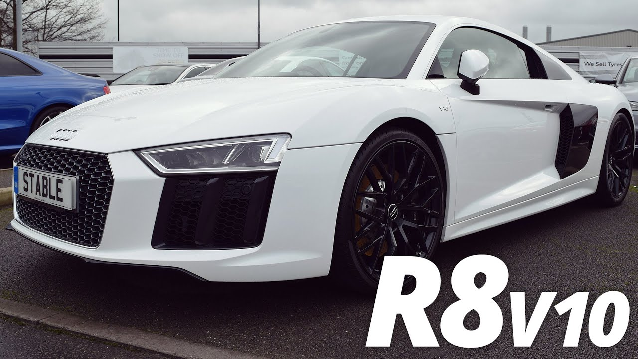 2016 Audi R8 V10 Walk Around Ibis White Youtube