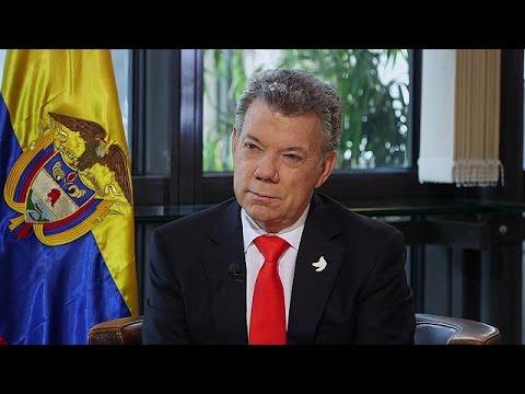 ¿Qué pasa? Columbia? Präsident Santos im Gespräch - global conversation