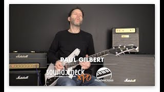 Paul Gilbert Sound:Check Xpo 2018