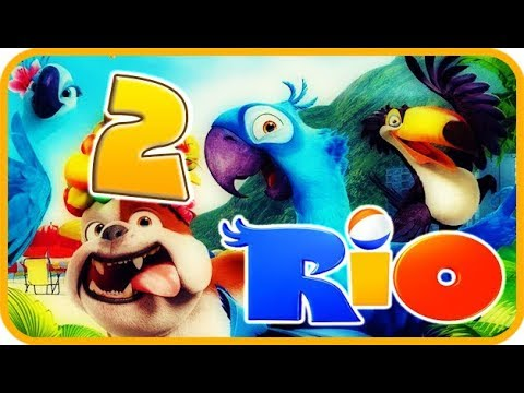 Rio Walkthrough Part 2 - Movie Party Game (PS3, X360, Wii) Story Mode 2: Rainforest