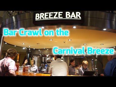 Carnival Breeze Bar Crawl - May 2018