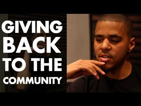 J Cole talks Giving Back To The Community | SoulCulture.TV x Orange Rockcorps