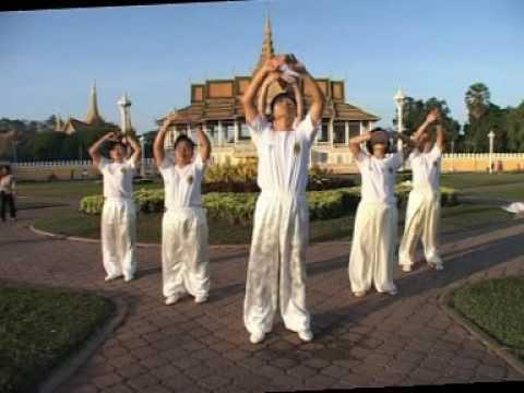 Cambodia Master Kim Tai Chi Qi Gong 1-6