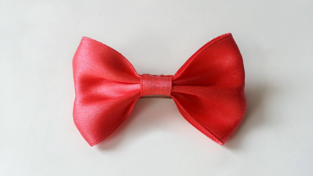 Create A Pretty Satin Ribbon Bow Diy Style Guidecentral Youtube