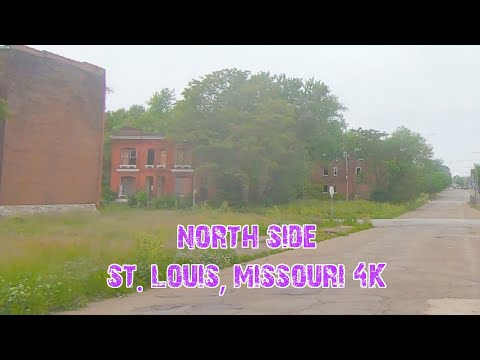 North Side St. Louis Hoods: St. Louis, Missouri 4K.