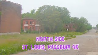 The WORST Areas of America's Murder Capital: St. Louis, Missouri 4K.