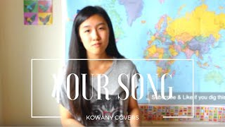 Your Song -Elton John/ Christina Grimmie (Cover by Kenny W)