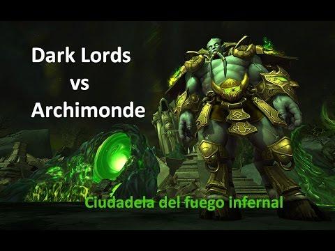 Dark Lords vs Archimonde normal Español | Eise