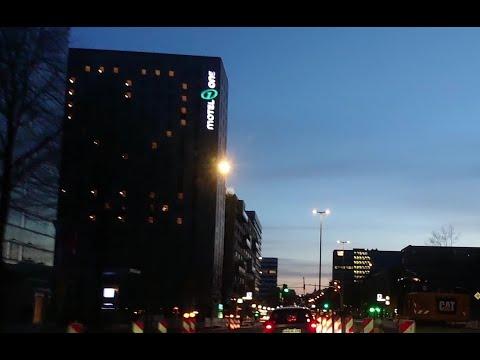 night driving in Hamburg April 2020