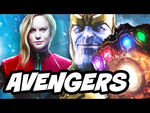 Avengers Infinity War Captain Marvel Infinity Gem Origin Story