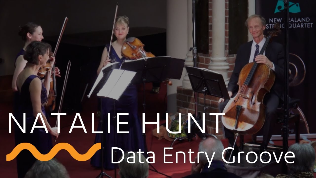 NATALIE HUNT: Data Entry Groove