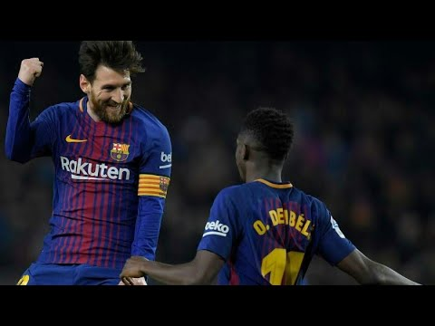 Highlights and goals Barcelona 6-1 Girona Resumen