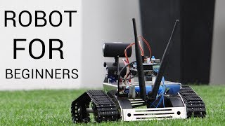 Robot kit for beginners (and not only) - Kuman tank