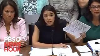 WATCH LIVE: Alexandria Ocasio-Cortez, other Dems testify on border facility conditions