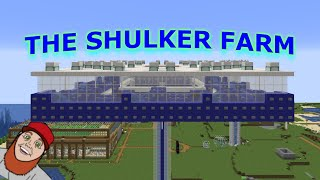 How To Build A Shulker Shell Farm In Minecraft 1 15 1 With Spawner Youtube