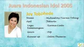 Juara Juara Indonesian Idol 2004 Hingga 2014