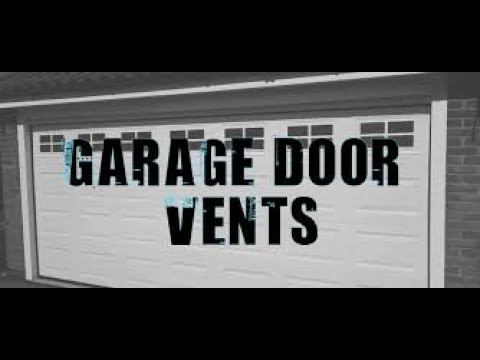 Charmant Vents On Garage Doors | 630 271 9343