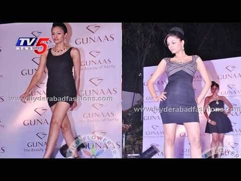 Fashion Show in Jubilee Hills | Architha Narayanam | Hydreabad : TV5 News