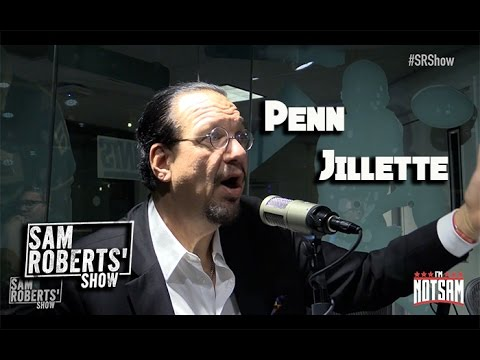 Penn Jillette - Trump, Extreme Weight Loss, Losing the Hair, etc - #SRShow