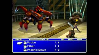 Final Fantasy VII PC gameplay HD