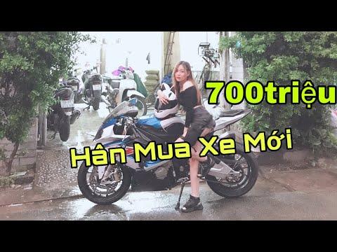 Gia Hân Tậu Cá Mập S1000RR - Rửa Xe Mới | MinhBiker