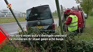 De gemeente Breda heeft een nieuwe oplossing bedacht om snelheidscontroles te houden.