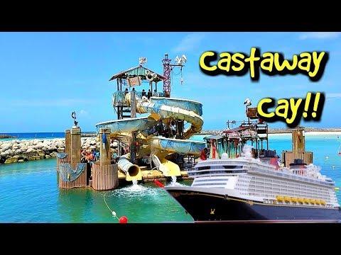 Disney Dream Cruise Castaway Cay!