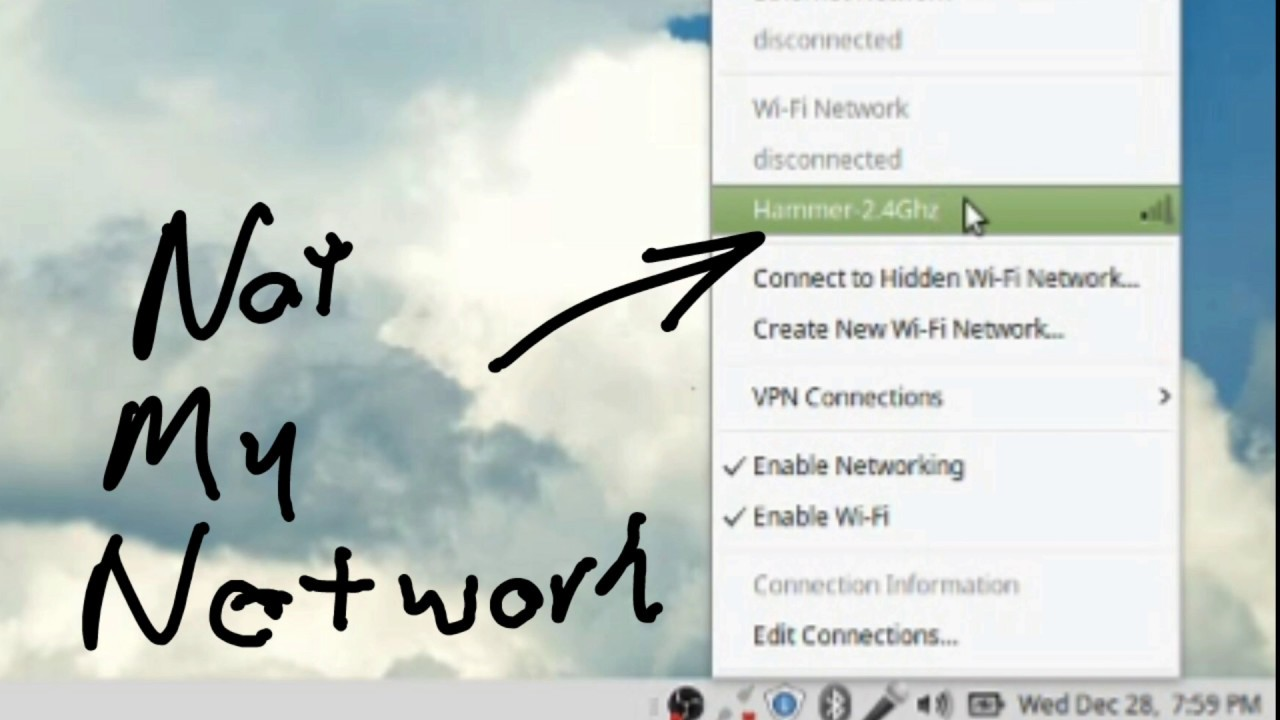 How to restart the network manager in Linux Mint when it won't show all  WiFi networks