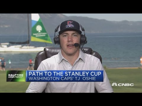 Washington Caps' TJ Oshie on winning the Stanley Cup