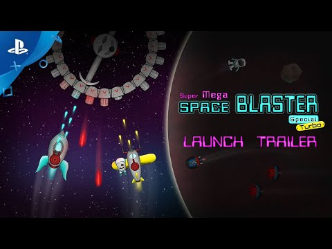 Super Mega Space Blaster Special Turbo - Launch Trailer | PS4