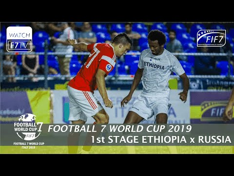 Ethiopia Vs Russia - Football 7 World Cup 2019 - 1st Stage (men)