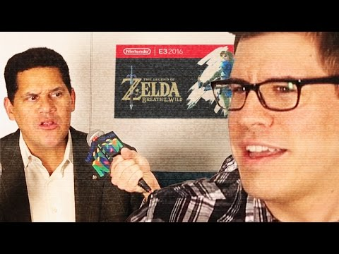 THE LEGEND OF ZELDA: BREATH OF THE REGGIE - Nintendo Interview