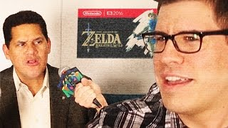 THE LEGEND OF ZELDA: BREATH OF THE REGGIE - Nintendo Interview
