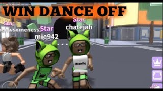ROBLOX: How To Win First Place Dance Off