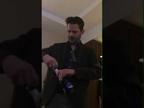 Cardinal CTV - Billy Campbell opening presecco
