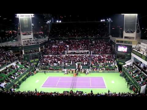 Roger Federer V Nikolay Davydenko: Qatar ExxonMobil Open Final Match Point