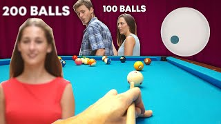 200 Balls In A Row !!! Pool Billiards Run Out