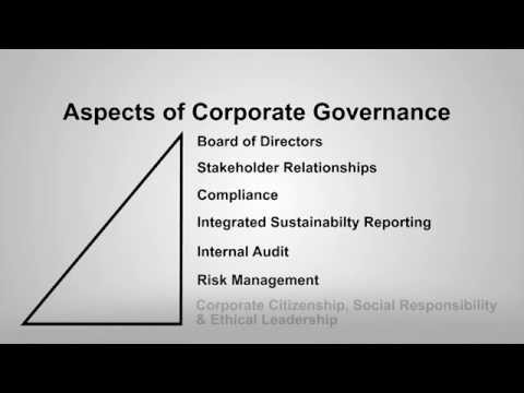 MBA Business Ethics and Corporate Governance (video 4 of 6)