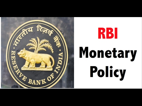 6th Monetary policy review - RBI - Banking Awareness for Bank PO
