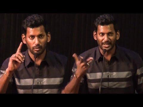 """Gautham Menon is earning 6 Lakh in YouTube"" -Vishal 