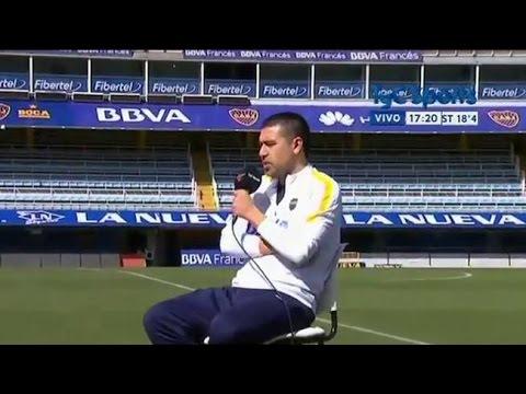 Juan Román Riquelme: 'Yo fui muy egoísta, vivía 24 horas para Boca'
