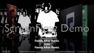 Family Affair Remix