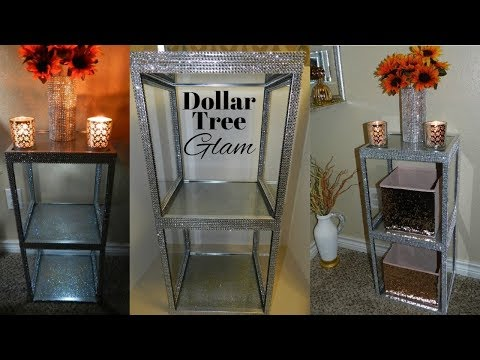 Dollar Tree DIY Side Table |DIY Elegant Dollar Tree Home Decor Idea 2019